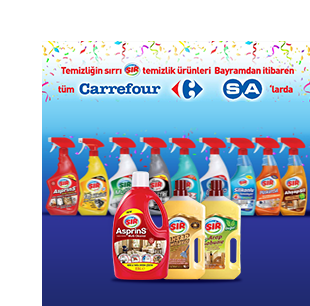 SIR Products Now Available at CarrefourSA
